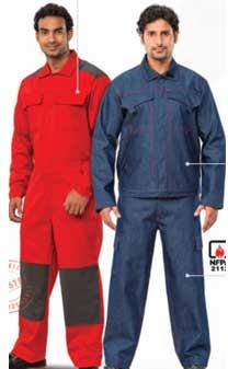 Quần áo chống cháy C240PR coverall